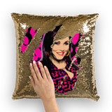 Kat Slater Leopard Sequin Cushion Cover