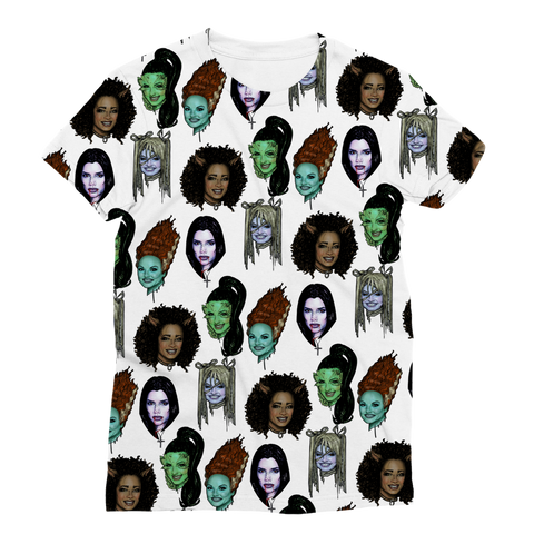 Spice Ghouls - XWayneDidIt Women's Fashion Tee