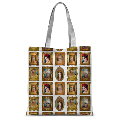 Mad Drag 2018 - Queens Classic Sublimation Tote Bag