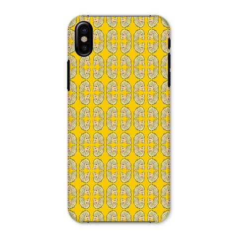 Dolly Mix Rhinestone Mustard - XWayneDidIt Phone Case