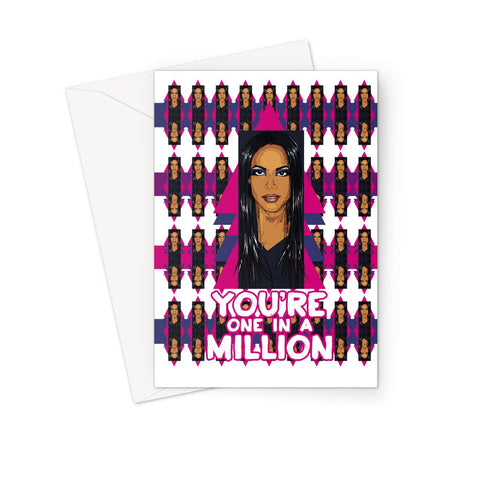 Aaliyah - X WayneDidIt Greeting Card