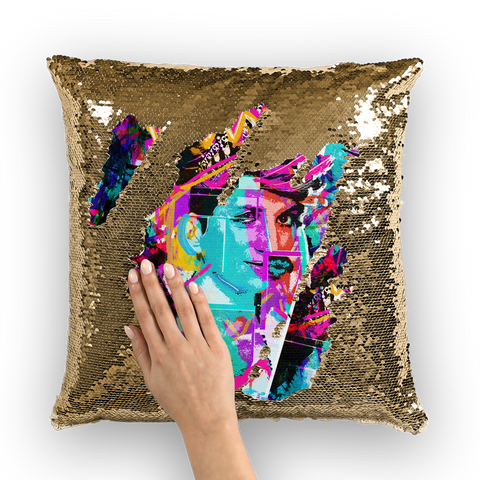 Pride 2020 - RVT: Party Like a Queen (Ltd. Edition) Sequin Cushion Cover
