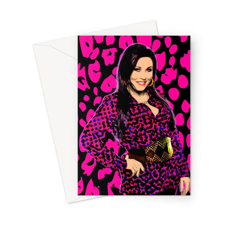 Kat Slater - Leopard Greeting Card