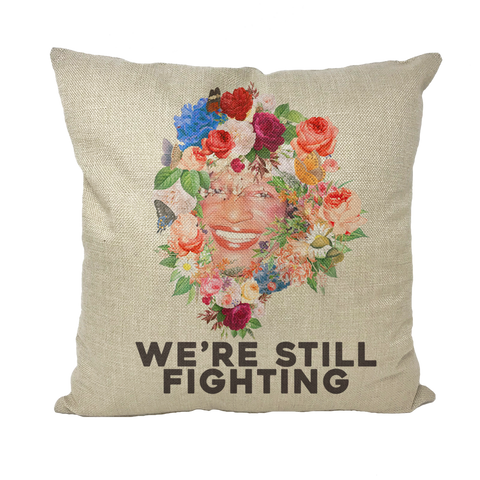 PRIDE 2020 - Marsha P. Johnson Throw Pillows Cover