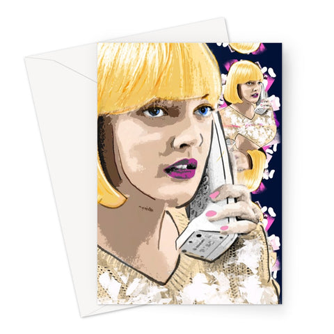 Casey Becker Greeting Card