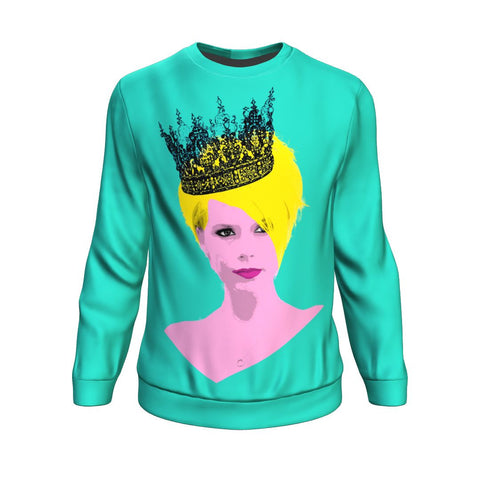 Crowned All Over Sweatshirt