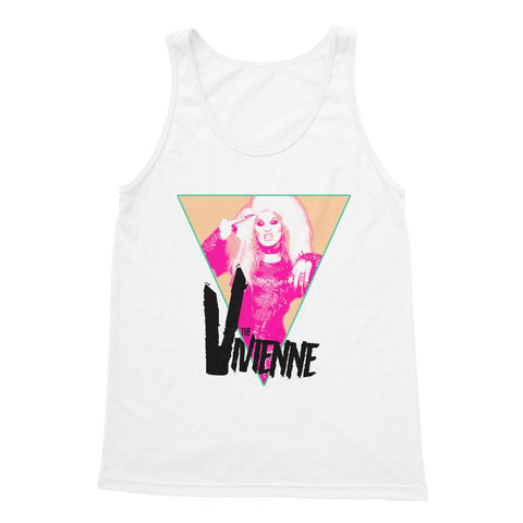 The Vivienne X Binge Finger Softstyle Tank Top