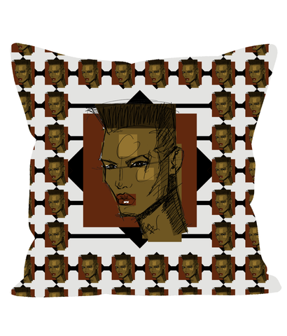 Grace - X WayneDidIt Pillow
