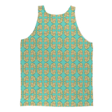 Dolly Mix Rhinestone Aqua - XWayneDidIt Fashion Tank