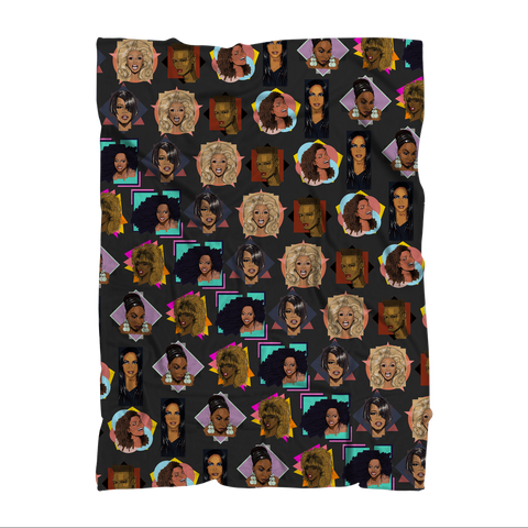 Diva Icons (Limited Edition) - X WayneDidIt Blanket