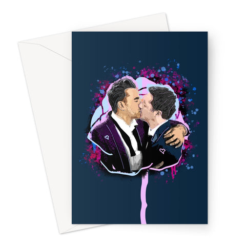 David & Patrick 4EVA Greeting Card
