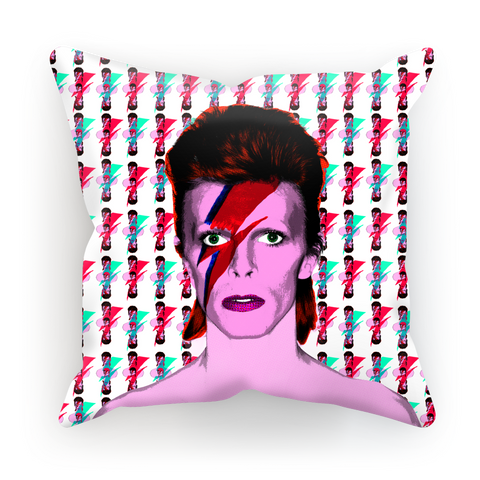 Bowie Star Child Cushion Cover