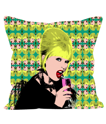 Ab Fab Patsy Fashion Pillow