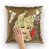 Dolly Mix - XWayneDidIt Sequin Cushion Cover