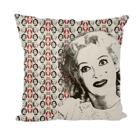 Baby Jane Bette Throw Pillow with Insert