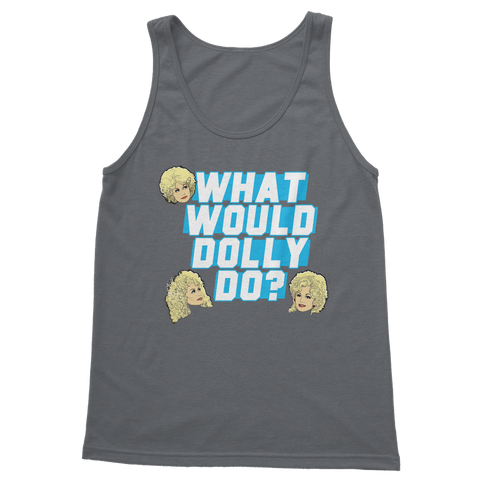 What Would Dolly Do? - XWayneDidIt Classic Adult Vest Top