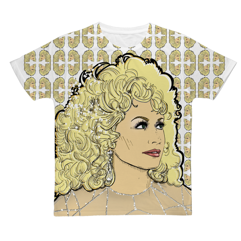 Dolly Mix Rhinestone - XWayneDidIt Fashion Tee