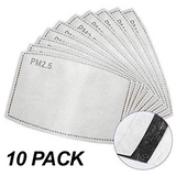Filter Replacement Activated Carbon Filter 10 Pack