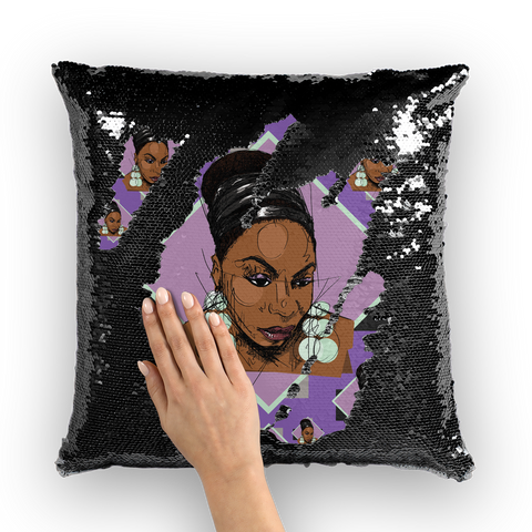 Nina - X WayneDidIt Sequin Cushion Cover