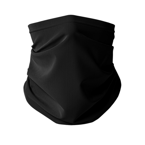 Plain Jane Noir Fashion Neck Gaiter (Face Covering)