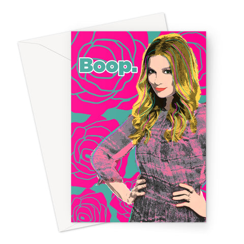 Alexis Boop Schitt's Creek Greeting Card