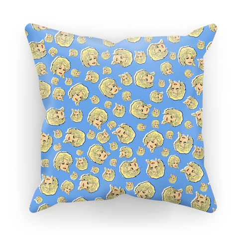Dolly Mix Whorehouse Blue - XWayneDidIt Cushion Cover