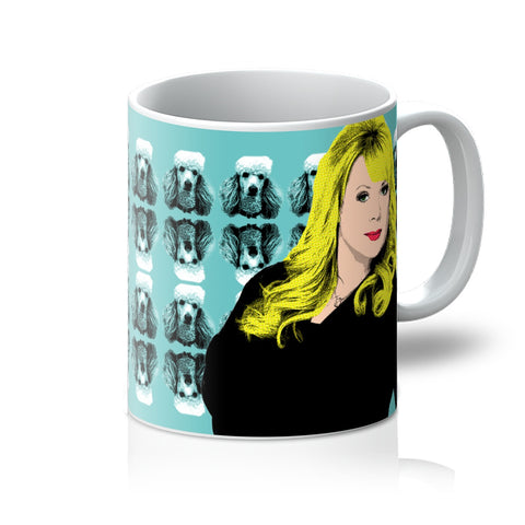 Sharon: Hello Peggy (Eastenders) Mug