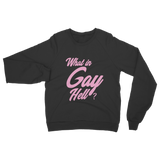 To Wong Foo Slogan Sweatshirt