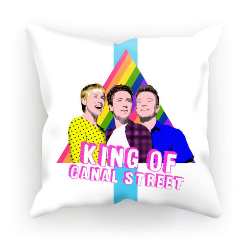 Queer as Folk - Canal Street Cushion