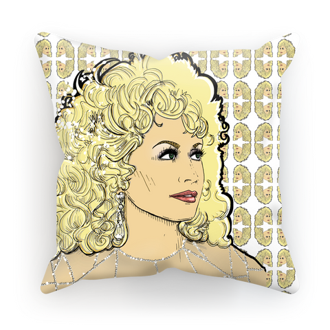 Dolly Mix Rhinestone - XWayneDidIt Cushion Cover
