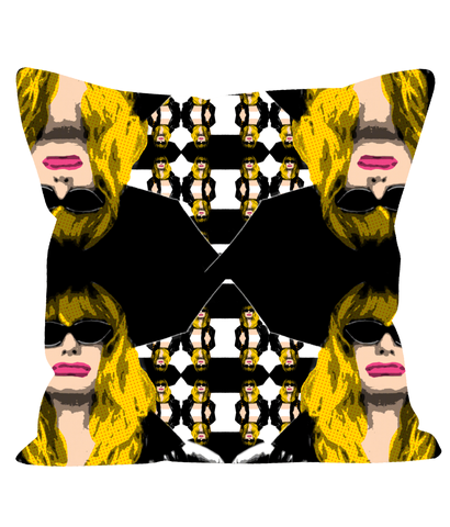 Elise First Wives Club Fashion Pillow