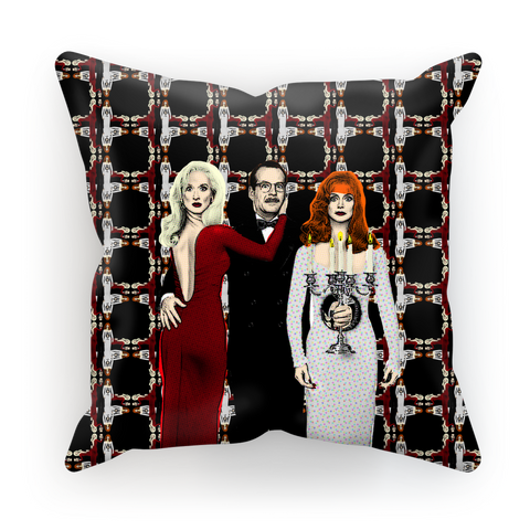 Death Becomes Her Cushion Cover