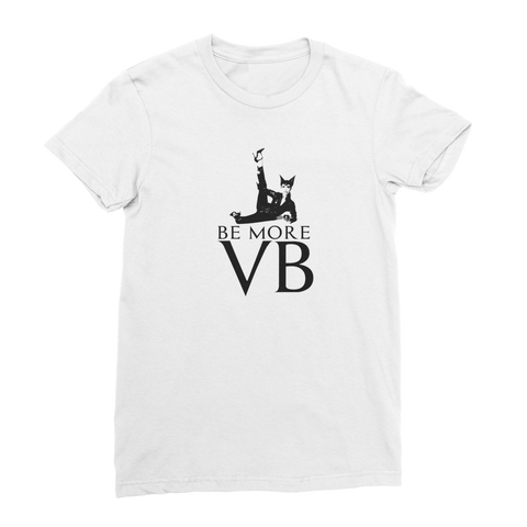 Vicky B Iconic Vogue Premium Jersey Women's T-Shirt