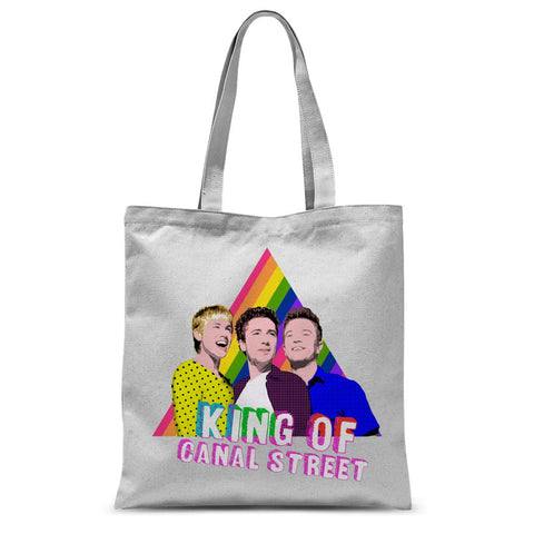 Queer as Folk - Canal Street Sublimation Tote Bag