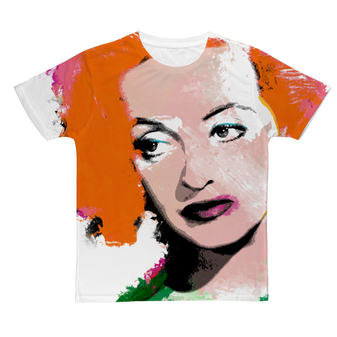 Hollywood Greats - Bette Fashion Tee