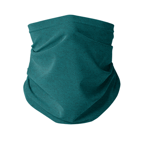 Colour Wheel: Teal Fashion Neck Gaiter (Face Covering)