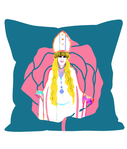 Moira Viking Pope Cushion