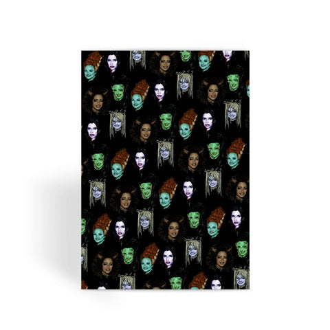 Spice Ghouls - XWayneDidIt Greeting Card