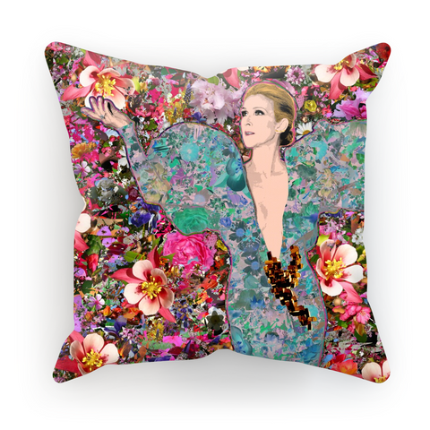 Celine - Billboard Flowers Cushion Cover