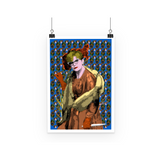 Clue - Mrs Peacock Art Print