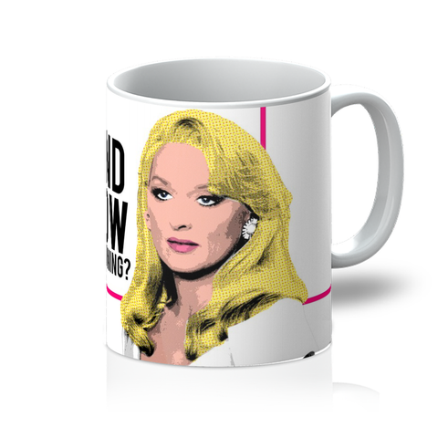 Death Becomes Her - Now a Warning Mug