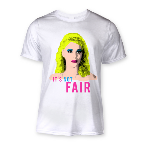 "Nomi Malone - Showgirls ""Not Fair"" Sublimation T-Shirt"