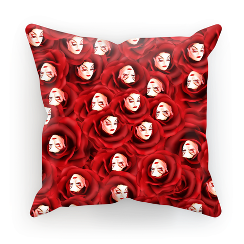 Mad Drag - Red Queen Cushion Cover