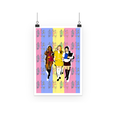 90s Clueless - Whatever Poster