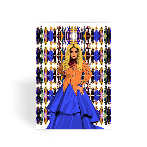Drag Race All Stars - Roxxxy Andrews Greeting Card
