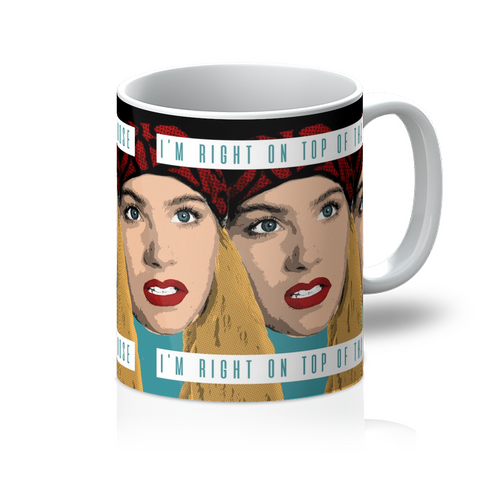 Christina Applegate Don't Tell Mom Mug