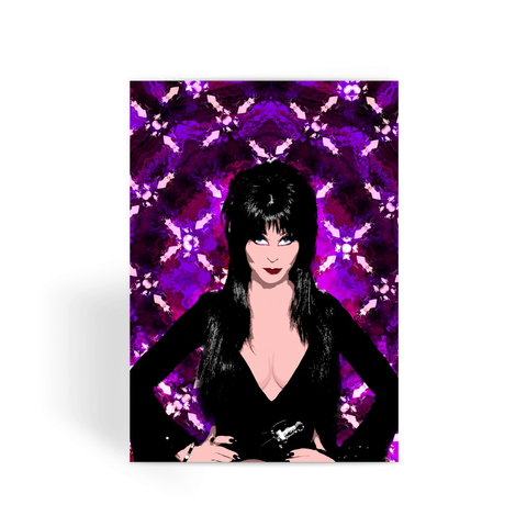 Elvira Mistress of the Dark Greeting Card