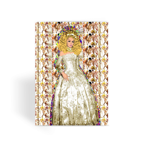All Stars 3 - Aja Greeting Card