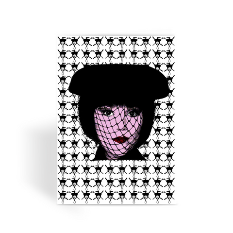 Mrs White - Clue Greeting Card
