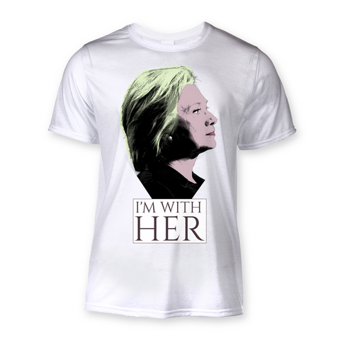 "Hillary Clinton ""I'm With Her"" T-Shirt"